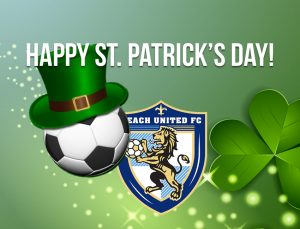 St. Patrick's Day post for soccer club